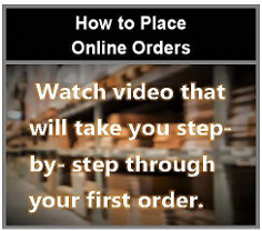 How to Place Online Orders 236px